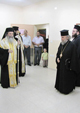 "22/10/09 His Beatitude the Patriarch of Jerusalem Theophilos III visits the philanthropic Institution ""Siksek"" in Bethany"