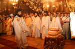 The Ceremony of the Blessing of the Bread during the Holy Liturgy
